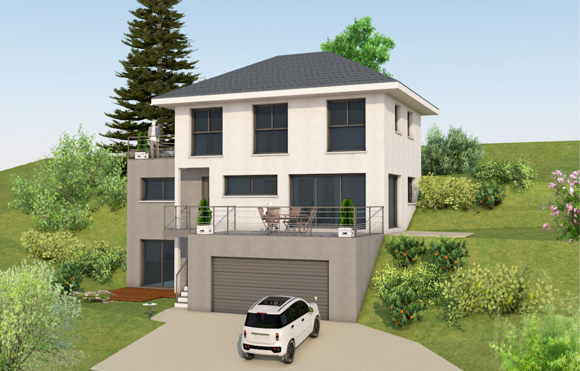 Maisons optimales for Constructeur de maison individuelle 33