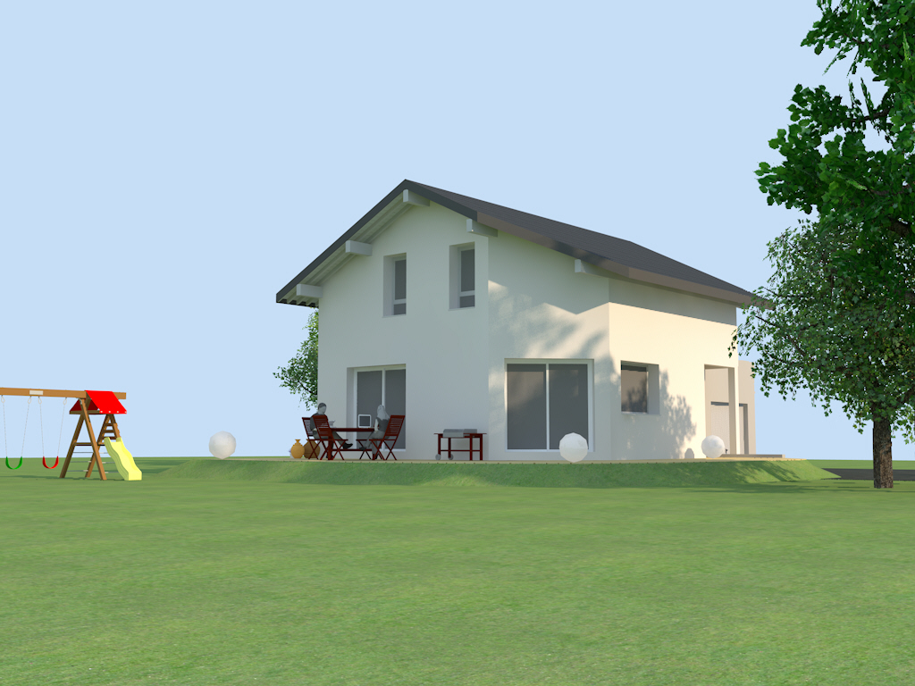 Pers pan coup 2 maisons optimales - Maisons optimales ...
