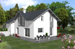 villa - cognin- maisons - maisons optimales - savoie - constructeur - plan -