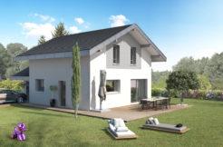 maison étage, st pierre d'albigny, savoie, construction, maison neuve, , constructeur, constructeur maison individuelle,