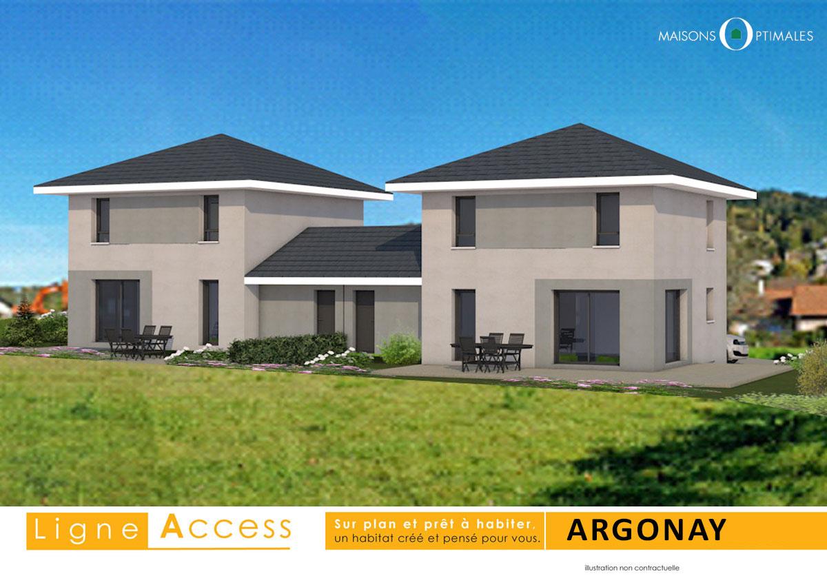 VEFA - ARGONAY - neuf - construire