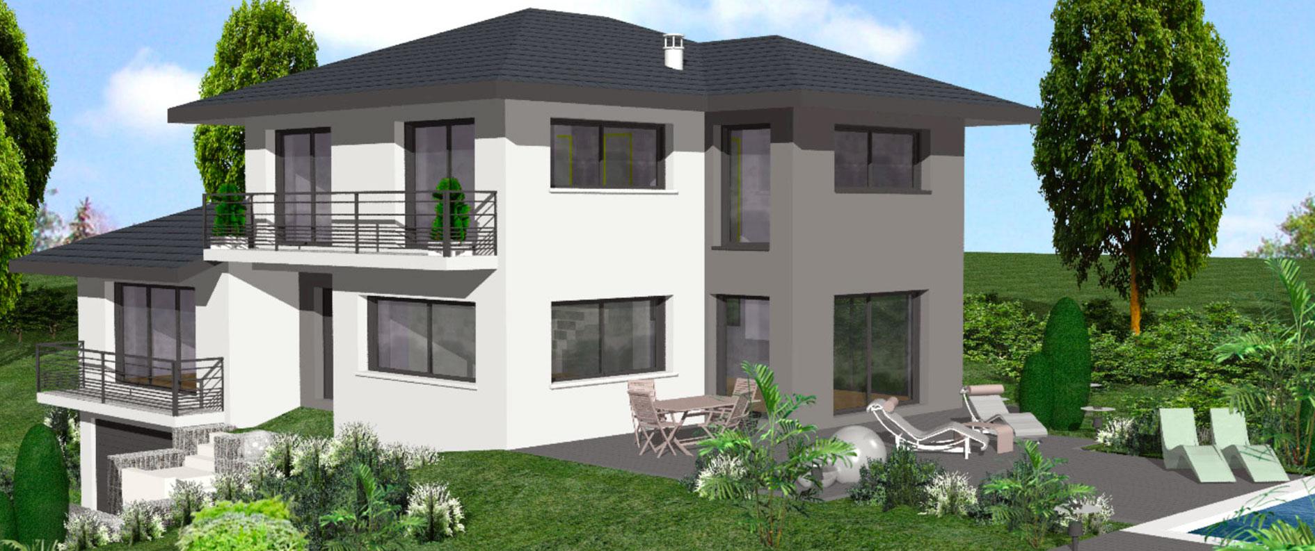 constructeur de maison en savoie haute savoie. Black Bedroom Furniture Sets. Home Design Ideas