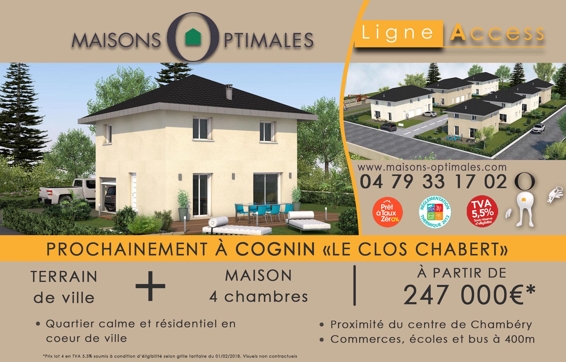 construire - construction - clos chabert -cognin -maison ville -