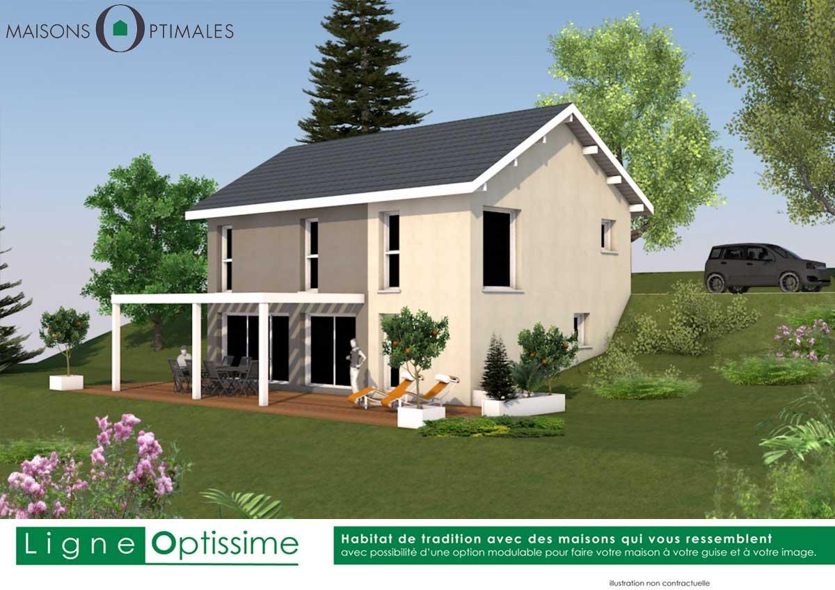 villa individuelle-maison familiale-villa moderne-contemporaine-construction neuve-faire construire sa maison