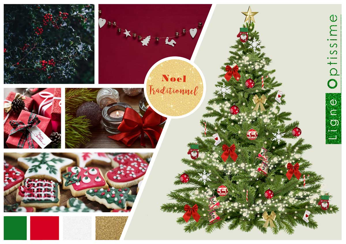 sapin traditionnel-decoration-construction-maison-decorations-noel