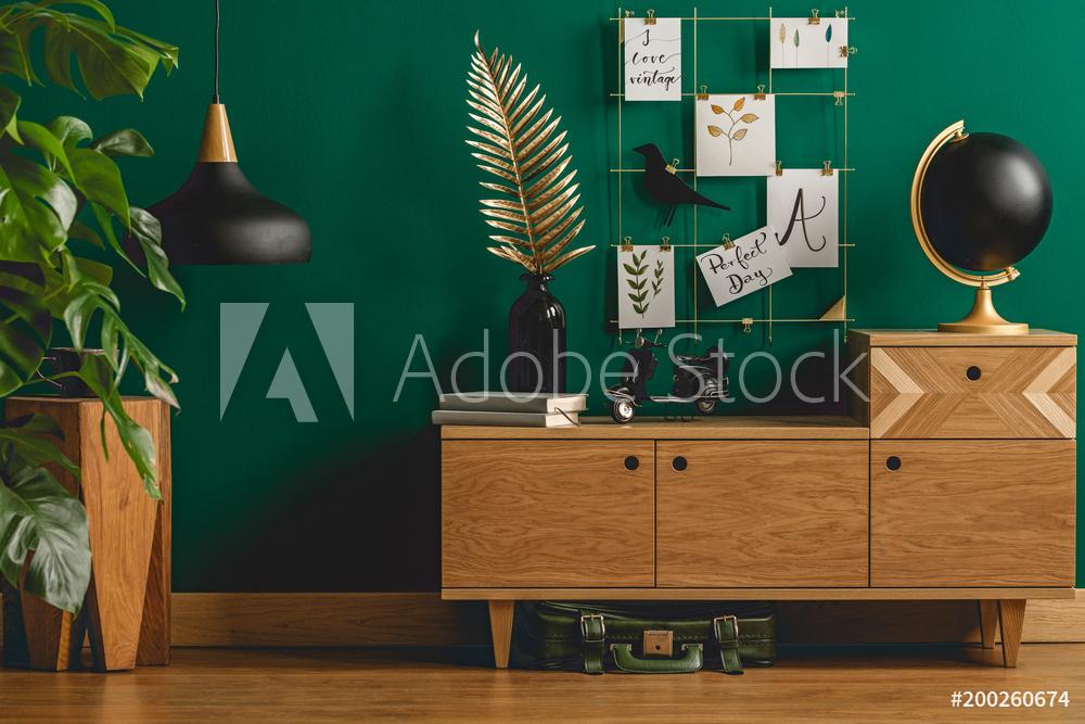 vert-deco-interieur-tendance-amenagement-nouvelle maison-
