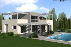 toiture terrasse - maison-motte servolex-savoie-73-construction neuve-villa