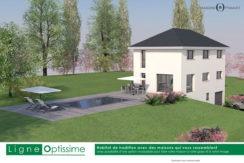 annecy- maison annecy - aix les bains-maison-le montcel-73100- avec vue-construction-construire-constructeur